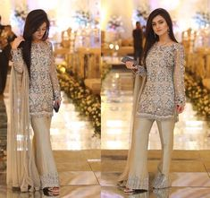Our beautiful client Manahil looks gorgeous in Faiza Saqlain ensemble at a recent wedding ✨✨ Pakistani Party Wear, Pakistani Wedding Outfits, Pakistani Dresses, Indian Dresses, Pakistani Couture, Indian Clothes, Simple Dresses, Casual Dresses, Fashion Dresses