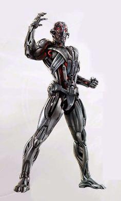 Vingadores 2: artes conceituais revelam corpo inteiro de Ultron ~ SuperVault