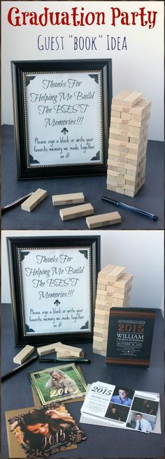 Graduation Party Guest Book Idea - 50+ DIY Graduation Party Ideas & Decorations