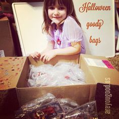 #halloween goody bags ready to go. Spreading good news of Jesus one kid at a time.