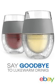 Say goodbye to lukewarm drinks with the FREEZE! Just pop in the freezer, pour and enjoy perfectly chilled wine. No need to preplan by chilling your wine or drink beforehand. Keep your drinks cold when you order from eBay and get a free second-day delivery.