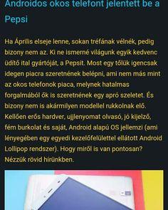 Beszáll a telefon bizniszbe a Pepsi. Igen. A cola gyártó.   http://www.vizualteszt.hu/hirek/76-androidos-okos-telefont-jelentett-be-a-pepsi.html  #pepsi #pepsimagyarorszag #okostelefon #p1