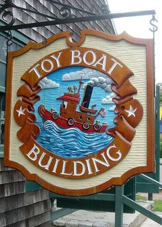 Toy Boat Building toy shop, Mystic, CT for Carla babies?
