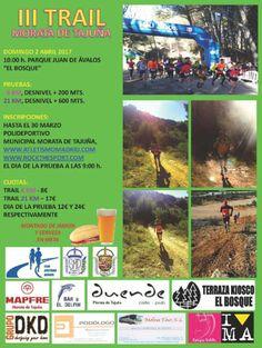 III Trail Morata de Tajuña, distancias de 6K y 21K #trailrunning #carrerasmontaña #carreras http://blgs.co/07-9To