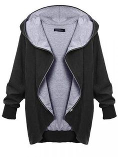 Hooded Large Size Thin Casual Jackets Outerwear