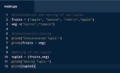 Coders World: Tuples in Python