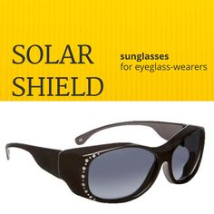 04f55f6591 Solar Shield are the best sunglasses for eyeglass-wearers! Eyeglasses