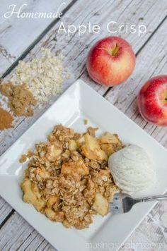 Homemade Apple Crisp