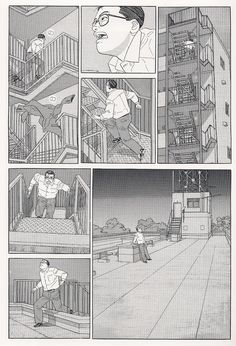 The Walking Man, by Jiro Taniguchi