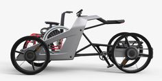 Velo Cargo, Best Electric Bikes, Electric Tricycle, Chopper Bike, Pedal Cars, Bicycle Design, Transportation Design, Electric Motor, Kiosk