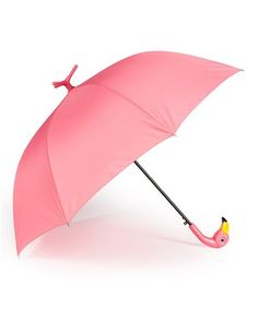 This would be such a great gift! Pink Flamingo Umbrella
