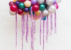 Jewel balloon cloud