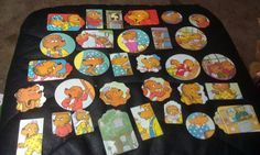 Berenstain Bears Scrapbooking Die cuts set of 69 pc by amylaugh, $6.29
