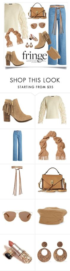 """Shimmy Shimmy: Fringe"" by alinepinkskirt ❤ liked on Polyvore featuring ALDO, Tabula Rasa, Vanessa Seward, Acne Studios, ADA Collection, Rebecca Minkoff, Christian Dior, Helen Kaminski and Kenneth Jay Lane"