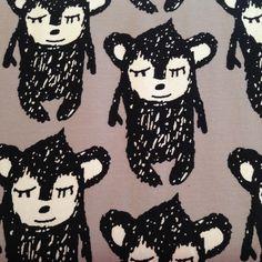 Little Hippu - Grey by PAAPII Design (Finland) - Organic Cotton Jersey | Simplifi Fabric