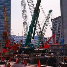 工事現場 #工事現場 #工事 #重機 #再開発  #construction #heavyequipment #redevelopment #tokyo #photo #photography #sigma #sigmadp #sigmadp2 #sigmadp2q #sigmadp2quattro #rawprocess