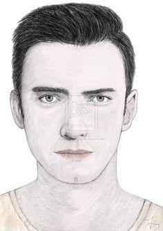 Drawing portrait Hayden Christensen by carlosirigoyen.deviantart.com on @deviantART