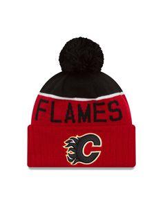Calgary Flames New Era 2016 NHL Sport Knit Hat