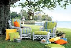 Demand for outdoor living space opens options for upholsterers. Best Outdoor Furniture, Outdoor Living, Outdoor Decor, Sunbrella Fabric, Outdoor Fabric, Living Spaces, Upholstery, Diy, Fabrics