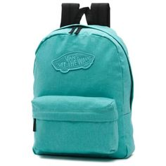 4778b74d10 Buy Vans Realm Backpack Pool Blue at the longboard shop in The Hague,  Netherlands