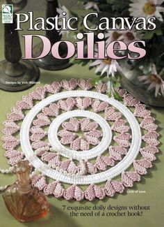 Plastic Canvas Doilies by Deb91353 on Etsy, $6.00