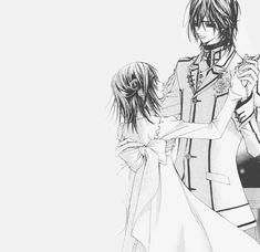 Manga Drawing, Manga Art, Anime Manga, Anime Guys, Anime Art, Vampire Knight, Vampire Hunter, Yuki And Kaname, Dengeki Daisy Manga