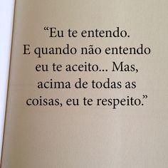 Melhor que respeito só respeito.