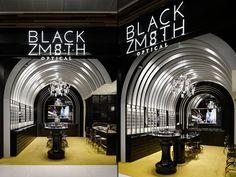 Blackzmith eyewear shop by STUDIO C8, Hong Kong » Retail Design Blog