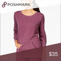 Style & Co Plum Purple Sweatshirt Size XL Sweater Style & Co Plum Purple Sweatshirt Size XL, new with tags. Super soft, light weight and stretchy. Retail $48🔹 No Trades🔹 Style & Co Sweaters