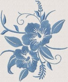 Floral Embroidery Design 167 | Free Embroidery Designs