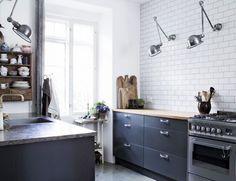 Vtwonen tegeltjes in keuken. bij houten keuken nieuwe keuken