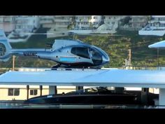 Ultimateberths.com Helicopter lands on Superyacht
