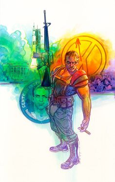 The Comedian by Brian Stelfreeze