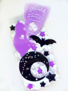 Whipped Cream Ouija Planchette Decoden Phone Case