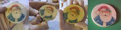Zaubertorten: Step by step vajas keksz csoki transzfer fóliával díszítve