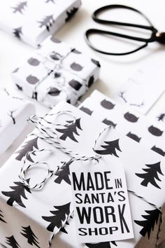 Perfectly adorable wrapping & tag printables.