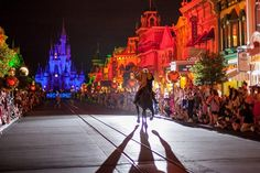 Walt Disney World - Magic Kingdom - Riding into the Not-So-Scary Halloween Party