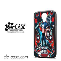 Marvel Pinball Captain America DEAL-6956 Samsung Phonecase Cover For Samsung Galaxy S4 / S4 Mini