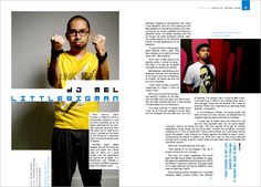Feedback magazine layouts
