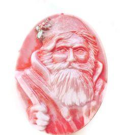 SOAP SANTA CHRISTMAS Soap Black Friday Cyber by thecharmingfrog, $10.00