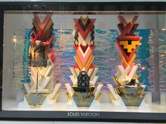 Louis Vuitton window, NYC, Summer 2015