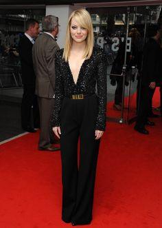 - Emma Stone, Spider-Man London Premiere