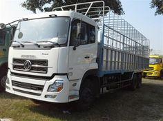 xe tải thùng khung mui dongfeng 3 chân 24 tấn