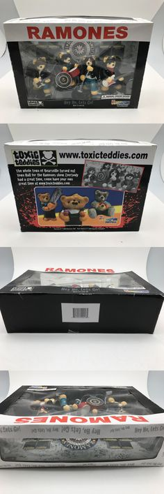 Music 175691: Ramones ~ Toxic Teddies - Hey Ho, Lets Go - Action Figures - New -> BUY IT NOW ONLY: $79.96 on eBay!