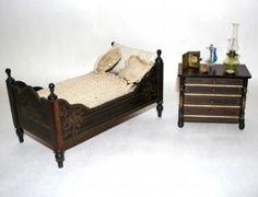 Large Boulle Bed And Kestner Chest