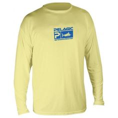 0f7bb05b0c74 PELAGIC Aquatek long sleeve T-shirt is comfortable, super lightweight,  stain resistant, and breathable while protecting from the harsh elements of  offshore ...