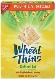 Whole Grain Wheat Thins Vegan Junk Food, Vegan Snacks, Snack Recipes, Salty Snacks, Vegan Recipes, Whole Grain Foods, Whole Grain Wheat, Accidentally Vegan Foods, Wheat Thins