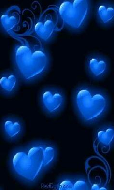 Brianna loved the colour blue.Sending you blue hearts full of love xo