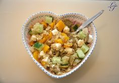 Quick vegetarian lunch or dinner recipe