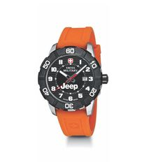 4ac1714634d9 JEEP - Roadster Watch   Orange Strap-  249.95 CAD Wenger Swiss Army is a  rugged